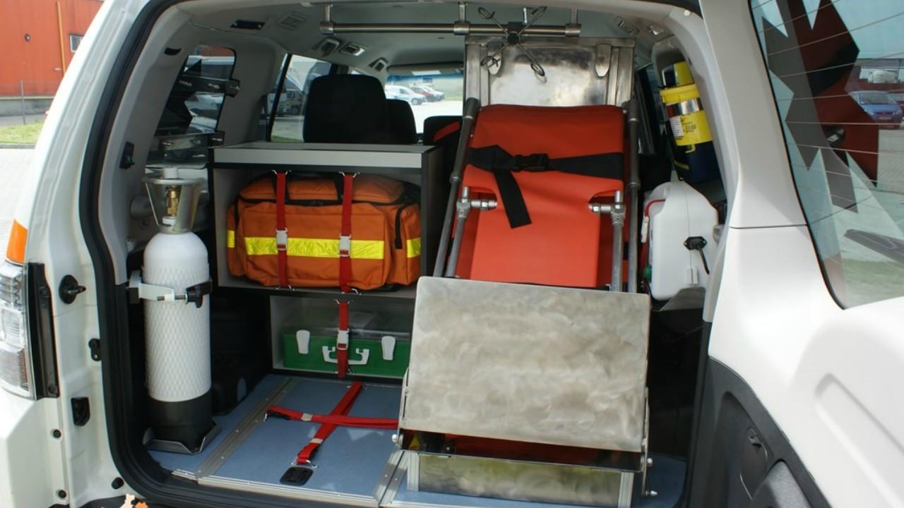 Ambulanta Mitsubishi Pajero